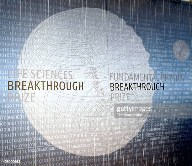 Atmosphere at Hanger 1 at the Breakthrough Prize Inaugural Ceremony at Nasa Ames Research Center on December 12 2013 in Mountain View California