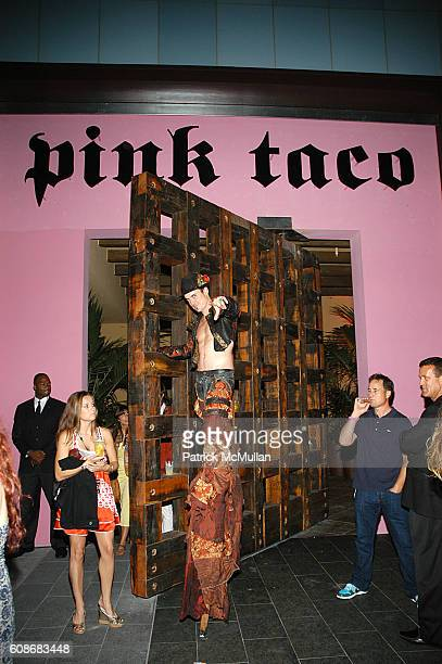 Atmosphere at Harry Morton's Pink Taco Restaurant Celebrates the Opening of New Los Angeles Outpost at Pink Taco on June 28 2007 in Century City CA