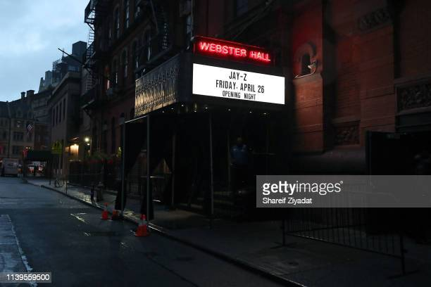 Atmosphere at Jay-Z Performs At Webster Hall - Backstage at Webster Hall on April 26, 2019 in New York City.
