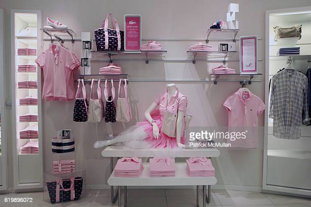 87a55cf7c69b75 Atmosphere at LACOSTE VOGUE Event to Celebrate Breast Cancer Awareness  Month at LACOSTE Fifth Avenue Boutique