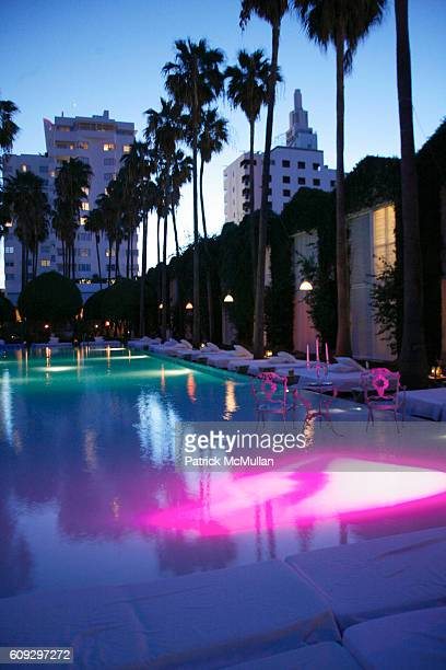 Atmosphere at Launch of Diane von Furstenberg Soleil Swim and Beach Collection at The Delano on July 13 2007