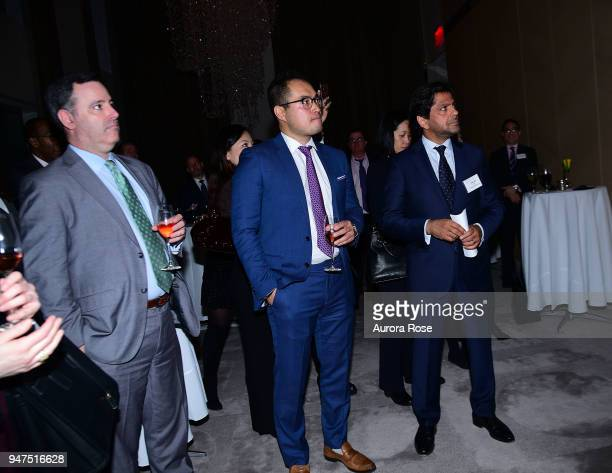 Atmosphere at Launch Of New Entity Withers Global Advisors at 432 Park Avenue on April 3 2018 in New York City