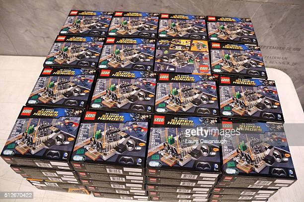 Atmosphere at Lego DC Comics Super Heroes Justice League Cosmic Clash at The Paley Center for Media on February 27 2016 in New York City