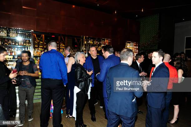 Atmosphere at Lionsgate Hosts the After Party for The Shack at Gabriel Kreuther on February 28 2017 in New York City