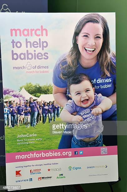 Atmosphere at 'March Of Babies' awareness event at New York Presbyterian Morgan Stanley Children's Hospital on April 7 2014 in New York City
