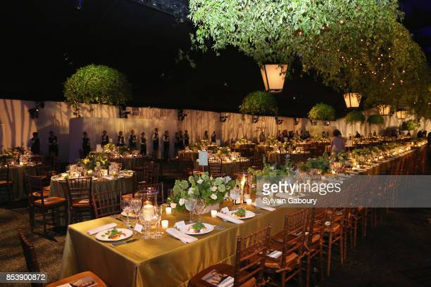 Atmosphere at Metropolitan Opera Opening Night Gala at Lincoln Center on September 25 2017 in New York City