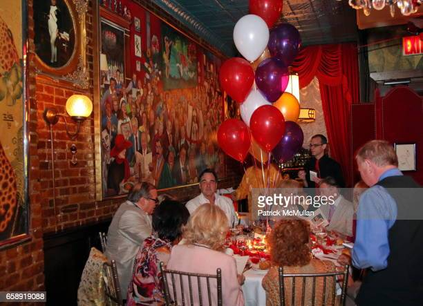 Atmosphere at Monique van Vooren Hosts a Birthday Party for Jacqueline Stone at Chez Josephine on August 18 2009 in New York City