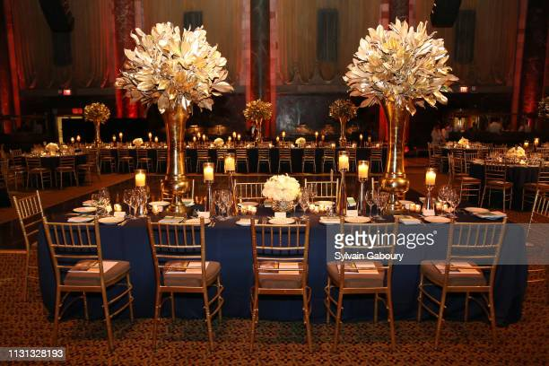 Atmosphere at Museum Of the City Of New York Winter Ball at Cipriani 42nd Street on February 21 2019 in New York City