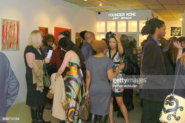 Atmosphere at Olympic Artist Jesse Raudales Peace for the Children Art Show at Los Angeles on February 9 2007