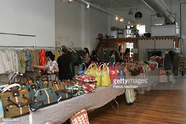 Atmosphere at Orla Kiely Sample Sale at 446 Broadway on July 30 2007 in New York City