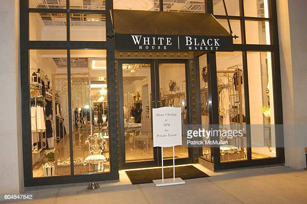 Atmosphere at Patricia And Michael Smith Invite You To Celebrate The NYC Store Opening Of WHITE HOUSE BLACK MARKET at White House Black Market on...