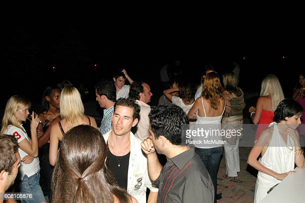 Atmosphere at Patrick McMullan Dave Zinczenko invite you to a Summer BBQ for Eric Kimberly Villency at 12 Southampton Hills Court on July 9 2006 in...