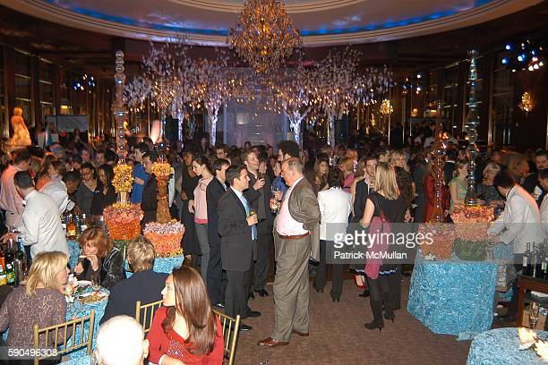 "Atmosphere at Preston Bailey Event Designer for the Wedding of Donald Trump and Melania Knauss Celebrates the Publication of his Book ""Fantasy..."