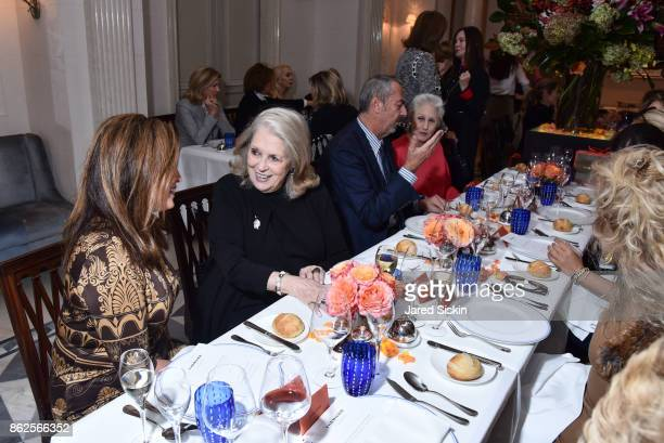 Atmosphere at QUEST VHERNIER Host Luncheon at MAJORELLE at Majorelle on October 17 2017 in New York City