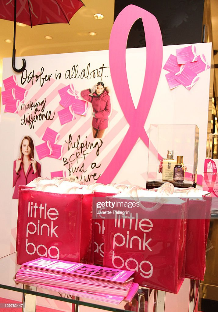 Atmosphere at Ready, Set, Pink! event at Bloomingdale's at Roosevelt Field Mall on October 20, 2011 in Garden City, New York.
