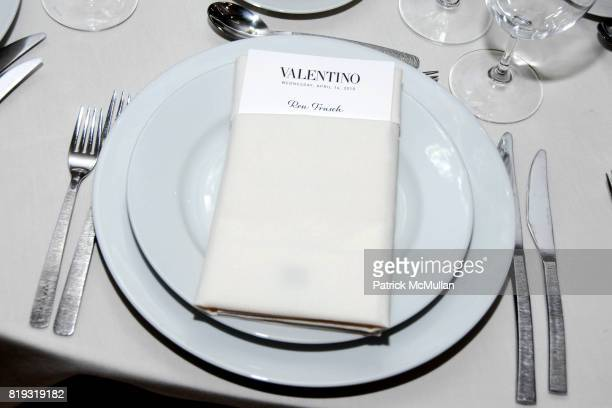 Atmosphere at SAKS FIFTH AVENUE VALENTINO Host a Dinner to benefit SAVE VENICE at Saks Fifth Avenue on April 14 2010 in New York City