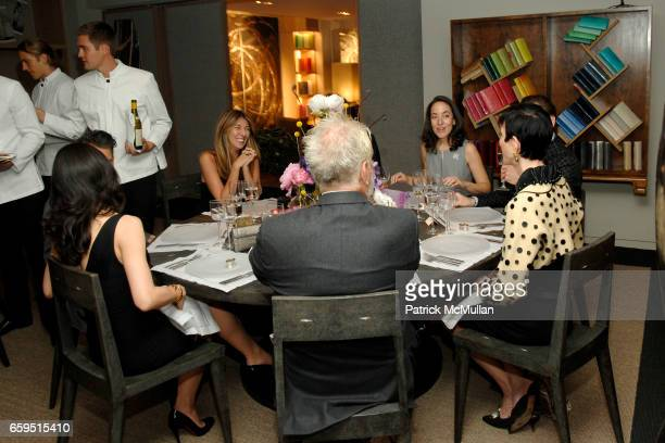 Atmosphere at Santiago Barberi Gonzalez hosts intimate dinner for Pamela Golbin to celebrate the launch of her book on Madeleine Vionnet at the Nancy...