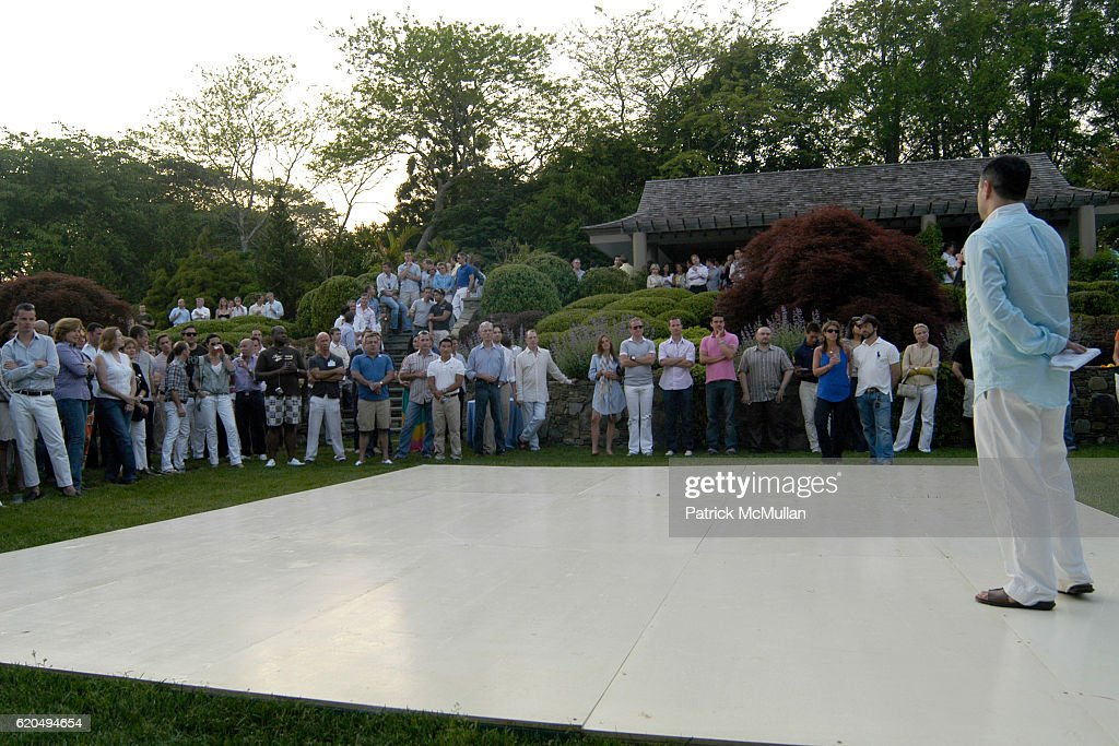 Atmosphere at School's Out 2008, benefiting The Hetrick-Martin Institute, home of the Harvey Milk High School at East Hampton on June 9, 2008 in East Hampton, New York.