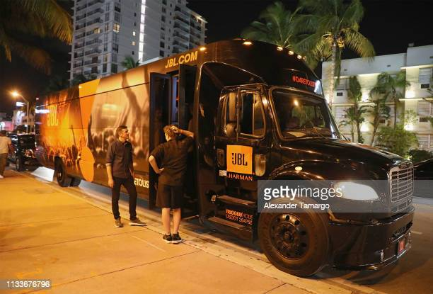 Atmosphere at Shaq's Fun House presented by JBL The party was one of the two events that JBL participated in during Miami Music Week including the...
