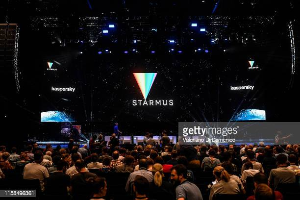 Atmosphere at Starmus V A Giant Leap sponsored by Kaspersky at Samsung Hall on June 26 2019 in Zurich Switzerland