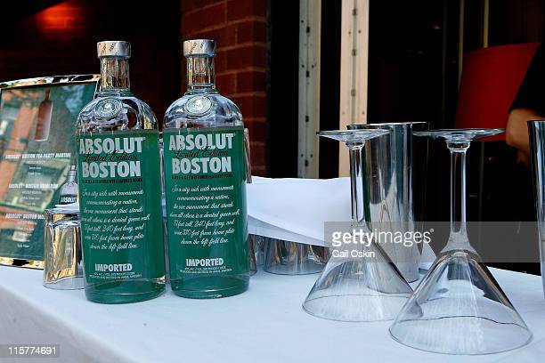 Atmosphere at Stephanie's on Newbury after the unveiling for the ABSOLUT Boston Flavor at Boylston Plaza Prudential Center on August 26 2009 in...