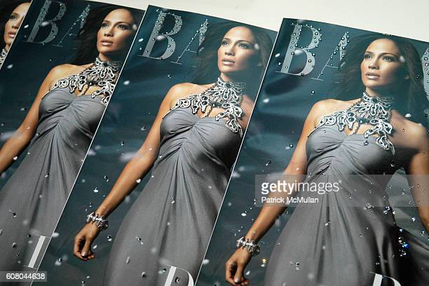 Atmosphere at SWAROVSKI and HARPER'S BAZAAR host a party to celebrate the new Crystalized Cover of Harper's Bazaar Magazine at Paris Theater on...