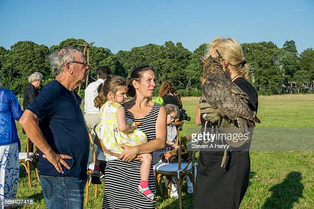 Atmosphere at the 10th Annual Get Wild Summer Benefit on August 13 2016 in Bridgehampton New York