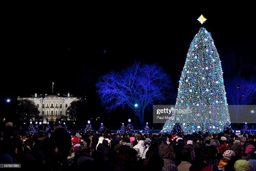 2010 National Christmas Tree Lighting : News Photo