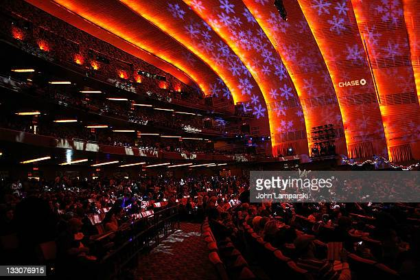 Atmosphere at the 2011 Radio City Christmas Spectacular opening night at Radio City Music Hall on November 16 2011 in New York City