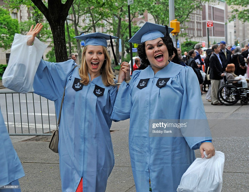 Barnard Graduation 2020.Atmosphere At The 2012 Commencement At Barnard College On
