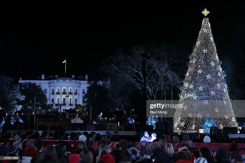 2012 National Christmas Tree Lighting Ceremony : News Photo