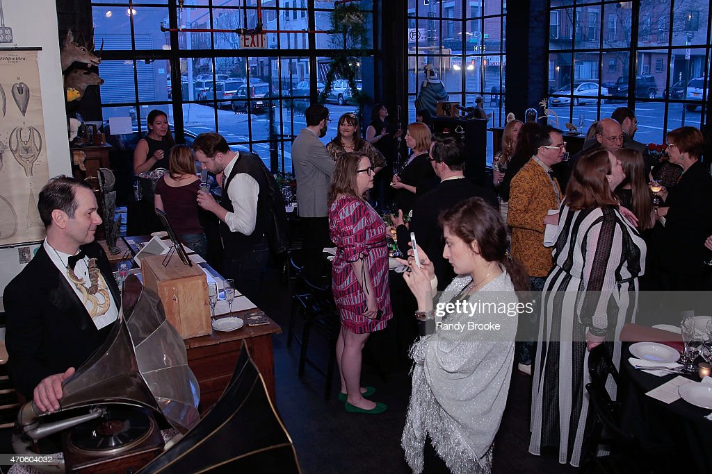 Atmosphere at the 2015 Morbid Anatomy Museum gala on April 21, 2015 in the Brooklyn borough of New York City.