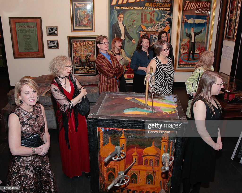 Atmosphere at the 2015 Morbid Anatomy Museum gala>> on April 21, 2015 in the Brooklyn borough of New York City.