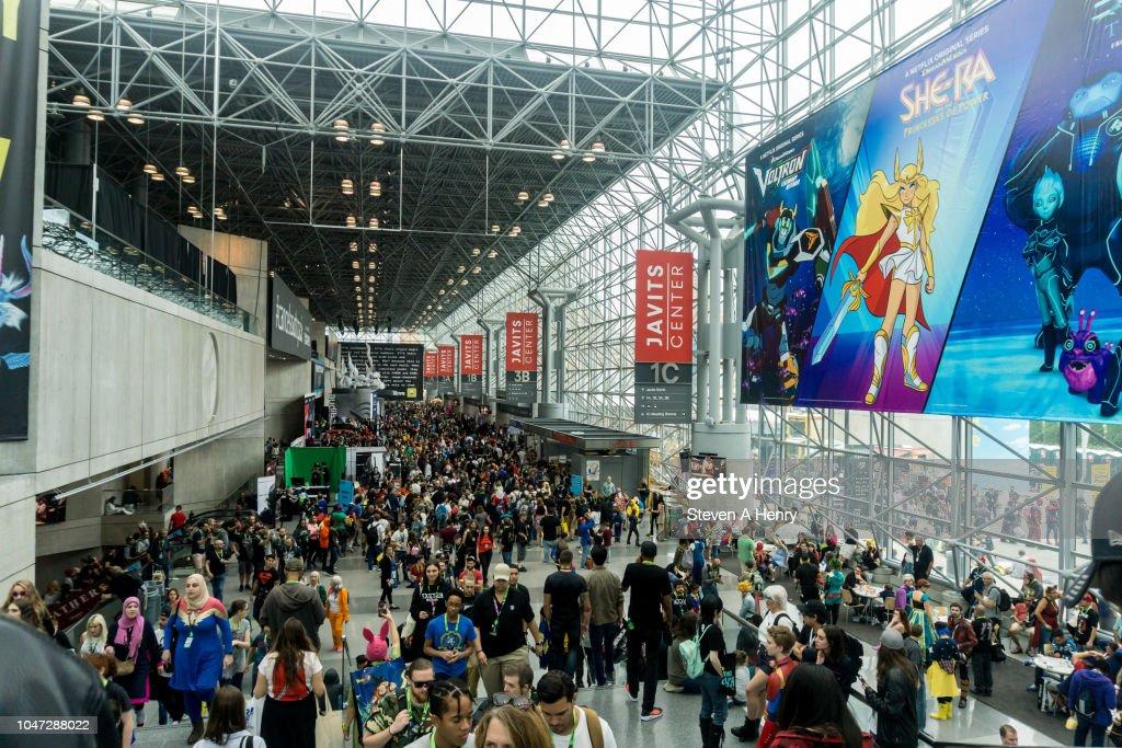 2018 New York Comic Con - Day 4 : News Photo