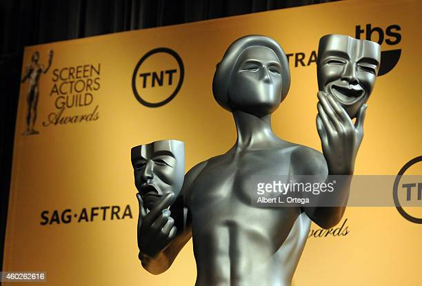 Atmosphere at the 21st Annual Screen Actors Guild Award Nominations and Holiday Display held at The Silver Screen Theater in West Hollywood on...