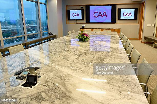 Atmosphere at the 23rd Annual CAA BBQ at Creative Artists Agency's Nashville office on June 8 2015 in Nashville Tennessee