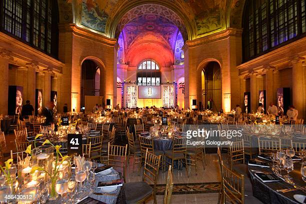 Atmosphere at the 25th Anniversary Adweek Brand Genius Gala at Cipriani 25 Broadway on September 30 2014 in New York City
