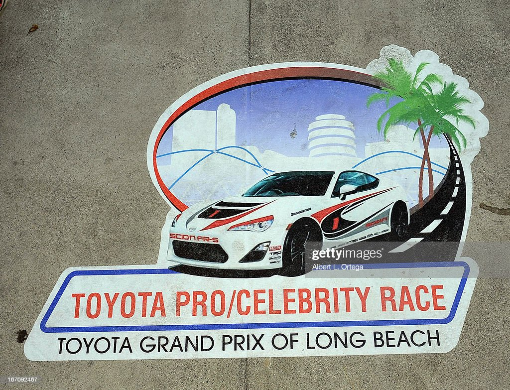 Atmosphere at the 37th Annual Toyota Pro/Celebrity Race - Qualifying Day held on April 19, 2013 in Long Beach, California.
