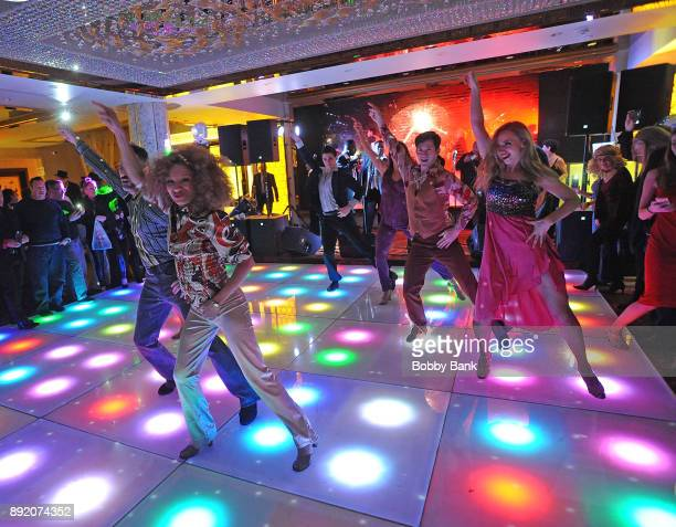 Atmosphere at the 40th Anniversary Celebration at former 2001 Odyssey Disco location at Bamboo Garden Restaurant on December 13 2017 in the Brooklyn...