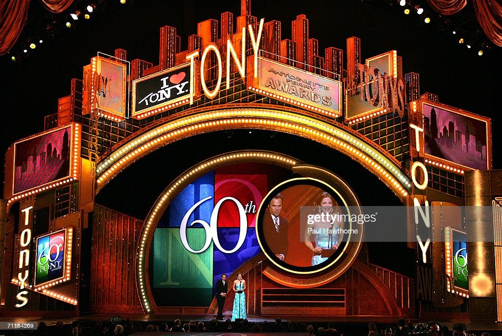 Atmosphere at The 60th Annual Tony Awards at Radio City Music Hall June 11, 2006 in New York City, New York.