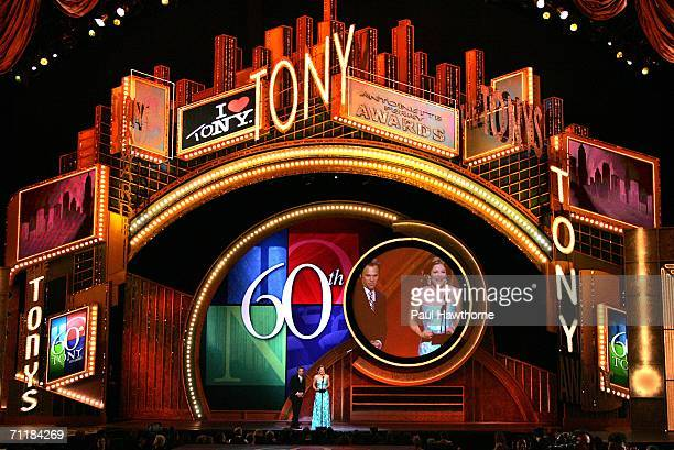 Atmosphere at The 60th Annual Tony Awards at Radio City Music Hall June 11 2006 in New York City New York