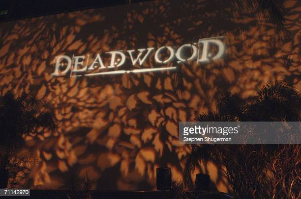 Atmosphere at the after party following the premiere of HBO's Deadwood at the Cabana Club on June 6 2006 in Hollywood California