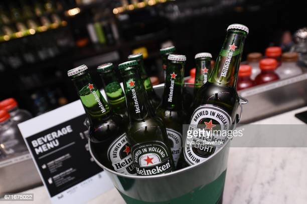 Atmosphere at the After Party for Permission Sponsored by Heineken during 2017 Tribeca Film Festival at UpDown on April 22 2017 in New York City