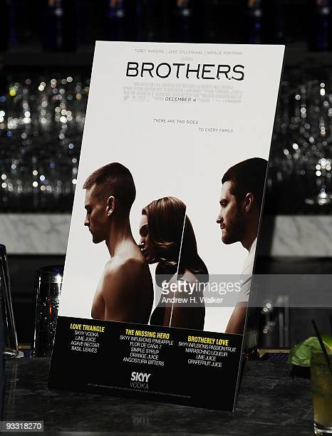 Atmosphere at the after party for The Cinema Society Details and DKNY screening of Brothers at Abe Arthur's on November 22 2009 in New York City