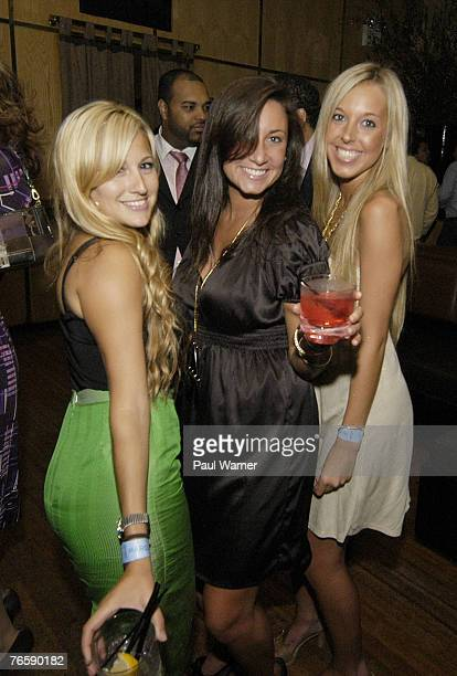 Atmosphere at the after show party for Designer Nicole Romano at Marquee during New York Fashion Week on September 6 2007 in New York