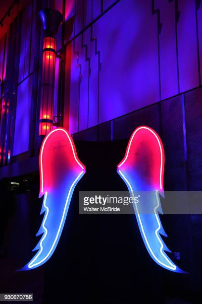 Atmosphere at The American Associates of the National Theatre's Gala celebrating Tony Kushner's Angels in America on March 11 2018 at the Ziegfeld...