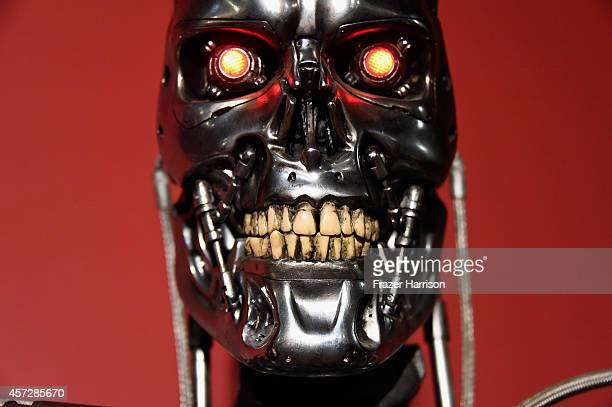 Atmosphere at the American Cinematheque 30th Anniversary Screening Of The Terminator at the Egyptian Theatre on October 15 2014 in Hollywood...