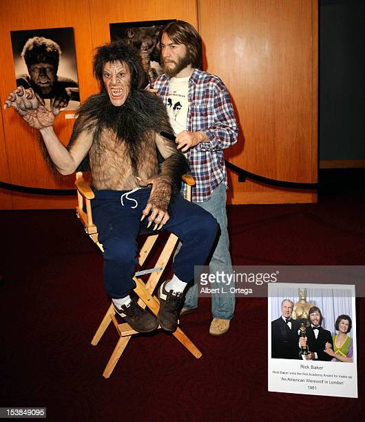 Atmosphere at the AMPAS Hosted Universal's Legacy Of Horror Screening Series 'The Wolf Man' And 'An American Werewolf In London' held at AMPAS Samuel...