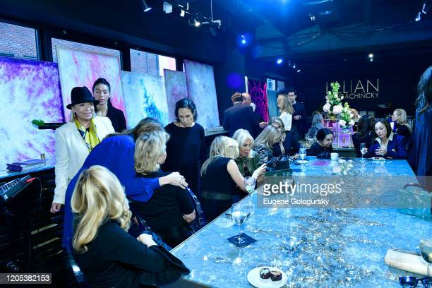 Atmosphere at the Andrea Bocelli Foundation Lillian Gorbachincky Present First Annual Luncheon at AD Building on February 10 2020 in New York City