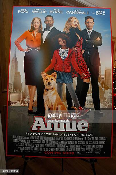 Atmosphere at the 'Annie' Cast Photo Call at Crosby Street Hotel on December 4 2014 in New York City